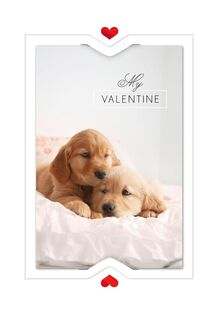 Snug with You Valentine's Day Card,