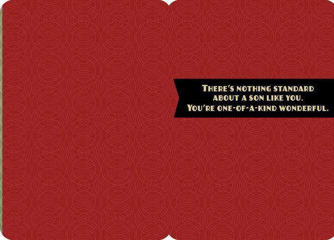 OneofaKind Son Birthday Card Greeting Cards Hallmark – Birthday Greeting for Son