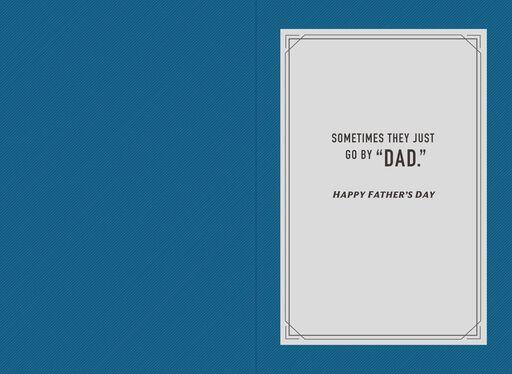 Secret Identity Batman™ Father's Day Card,