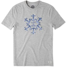 Life is Good® Men's Anchor T-Shirt, , large