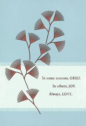 Season of Grief Sympathy Card