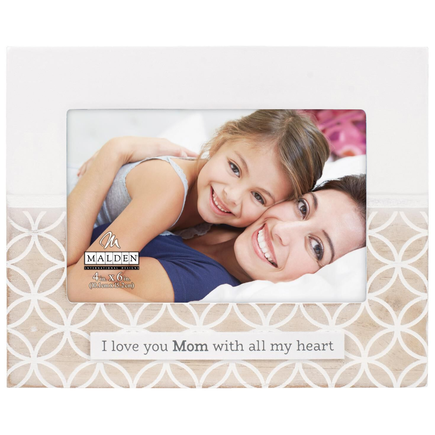 Malden Love You Mom Picture Frame, 4x6