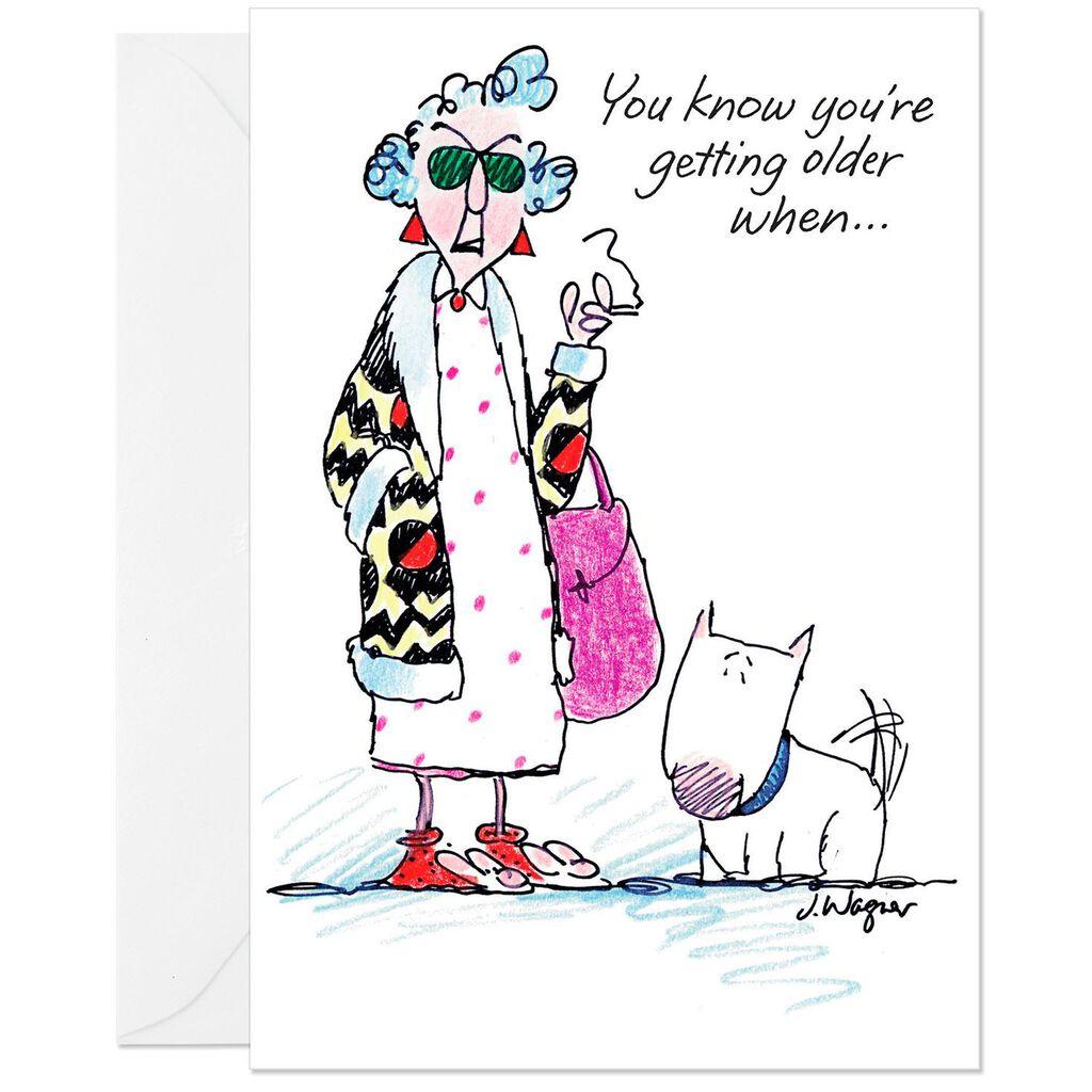 Feeling Droopy Funny Birthday Card