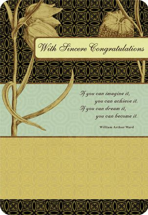 Proud Moment Congratulations Card