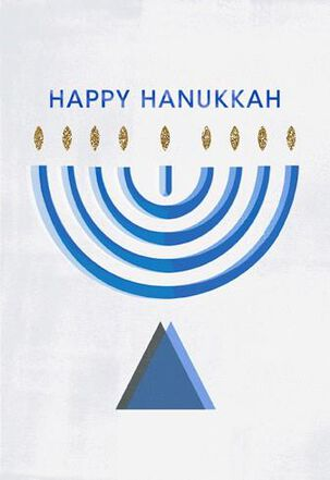 Timeless Traditions Hanukkah Card