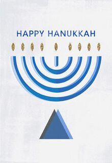 Timeless Traditions Hanukkah Card,