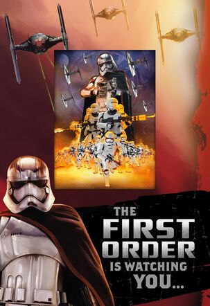 First Order Awesome Boy Birthday Card
