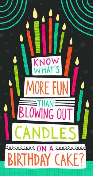 Blow This Money Holder Birthday Card