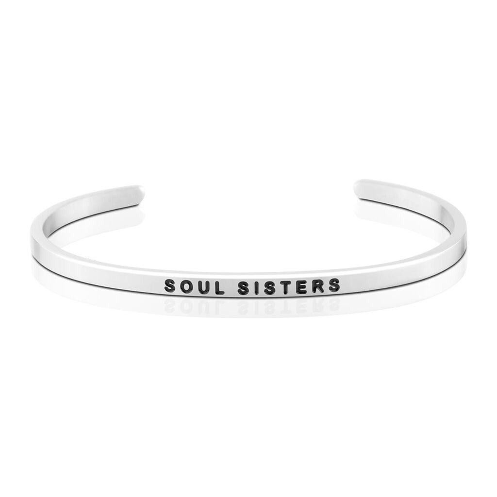 Mantraband Soul Sisters Bangle Bracelet