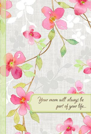 Floral Blossoms Remembering Mother Card