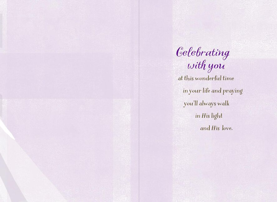 Blessings For You Confirmation Card For Goddaughter Greeting Cards