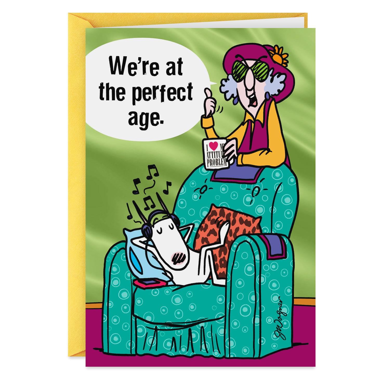 Funny Age Birthday Card