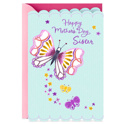 Sit Back Relax And Feel Loved Mothers Day Card For Sister