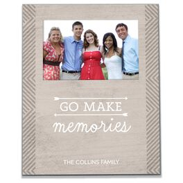 Personalized Make Memories Picture Frame, 4x6, , large