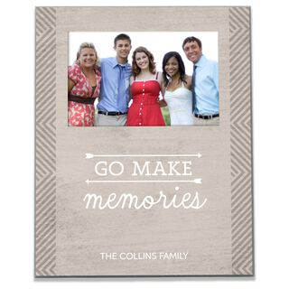 Personalized Make Memories Picture Frame, 4x6,