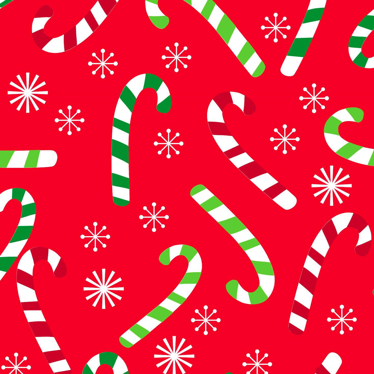candy canes on red jumbo christmas wrapping paper roll 100 sq ft