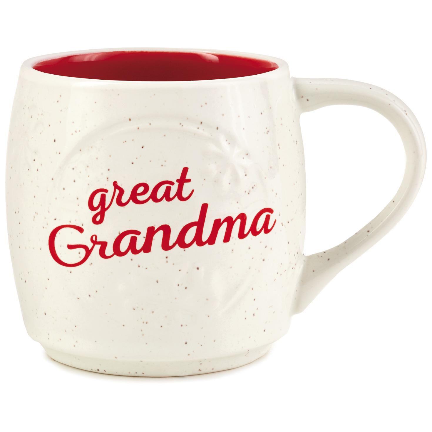 great grandma snowflake mug 15 oz mugs teacups hallmark