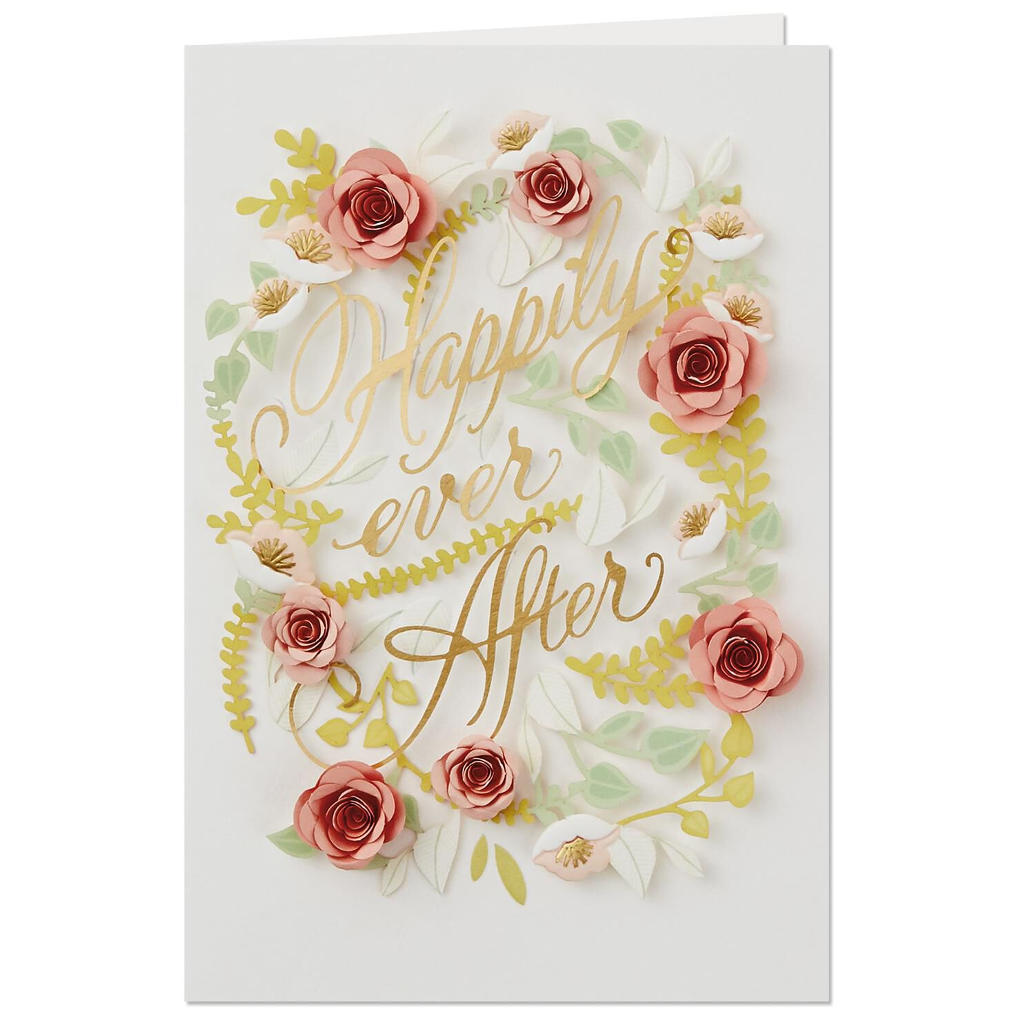 Happily Ever After Wedding Card Greeting Cards Hallmark