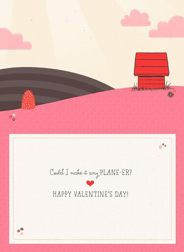 09e520847bd90e Peanuts® Snoopy Crazy About You Valentine s Day Card
