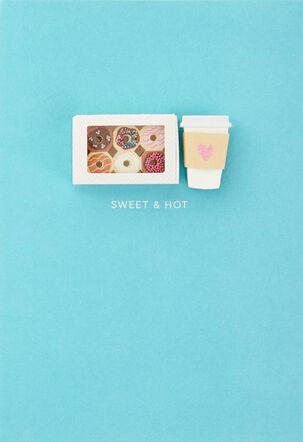Sweet & Hot Birthday Card