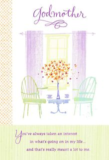 Mother's Day Card for Godmother,