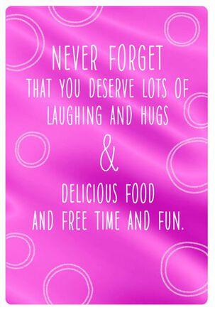 Free Time and Fun Birthday Card