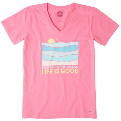 99a630d1396 Life is Good® Women s Take Me to the Ocean V-Neck T-Shirt ...