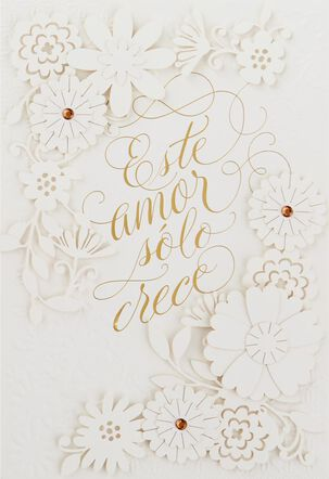 Este Amor Spanish Language Anniversary Card