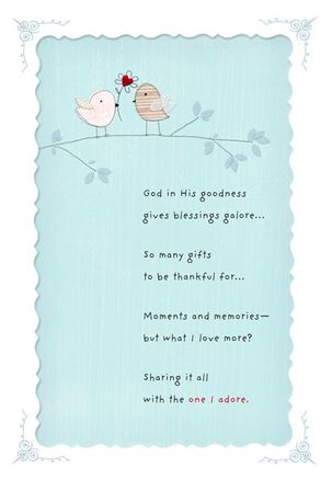 You're a Blessing Religious Birthday Card