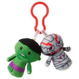 Hulk and Ultron itty bittys® Clippys Stuffed Animals, , large