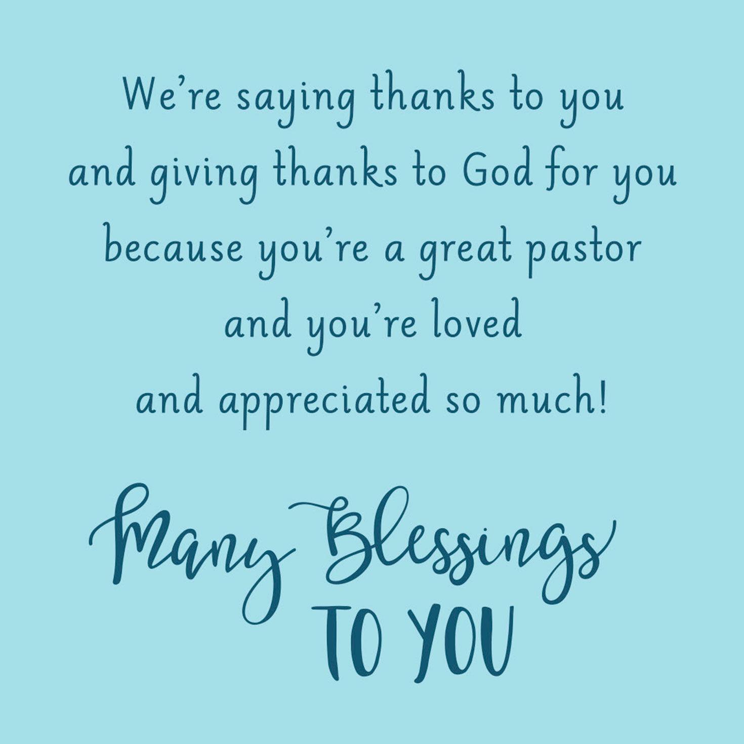 graphic relating to Pastor Appreciation Cards Free Printable identify Clergy Pastor Appreciation Hallmark