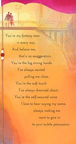 Fantasy Come True Valentine's Day Card