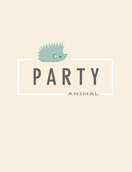 Party Animal Hedgehog Birthday Card Greeting Cards Hallmark