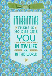 No One Like You, Mama Mother's Day Card,