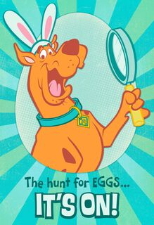 Scooby-Doo™ Easter Card for Grandson,