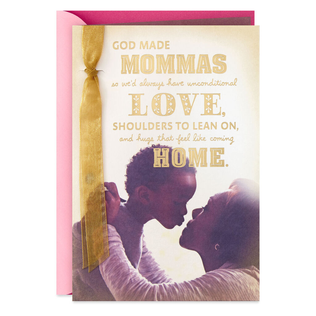 Mom And Boy Mothers Day Card From Son