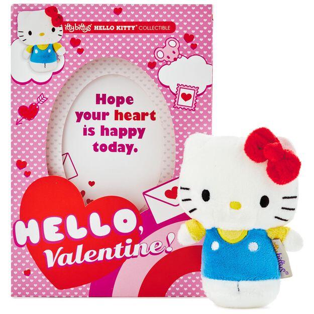itty bittys® hello kitty® valentine's day card with stuffed animal, Ideas