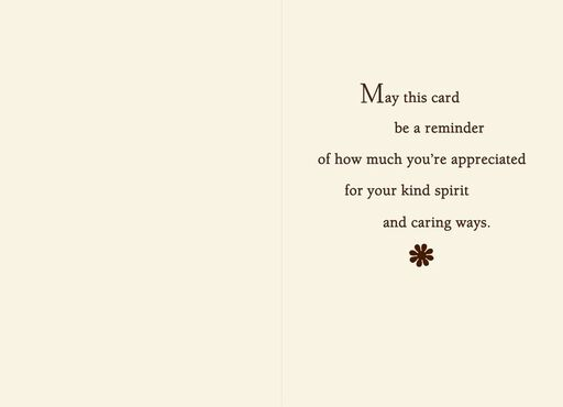 Kind Spirit Thank-You Card,