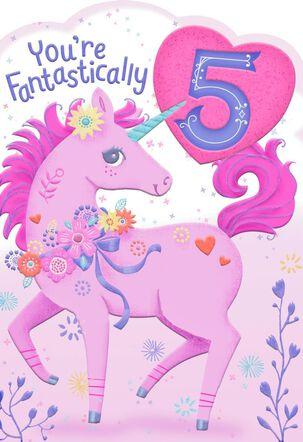Fantastically 5 Birthday Card