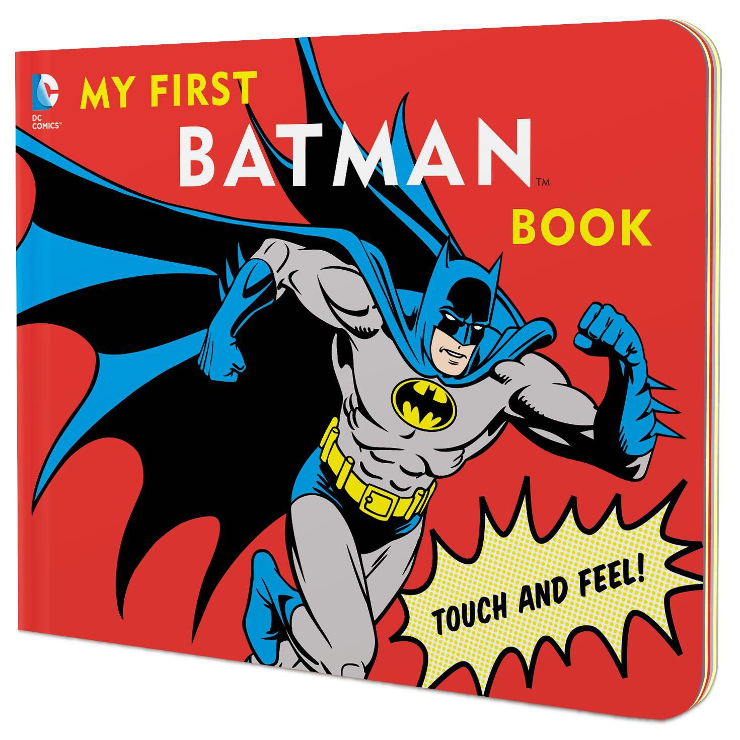 My First Batman Book Touch and Feel Board Book - Kids Books - Hallmark