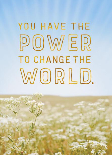 change the world graduation card greeting cards hallmark