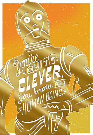 Star Wars™ C-3PO™ Quite Clever Birthday Card