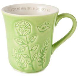 Be Still Mug, 12 oz., , large