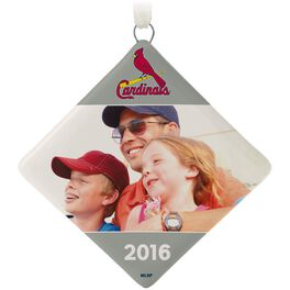 St. Louis Cardinals™ Ceramic Personalized Ornament, Diamond-Shaped, , large
