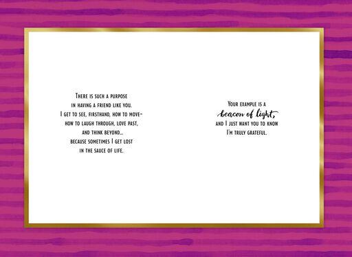 Jill Scott Grateful for You Friendship Card,