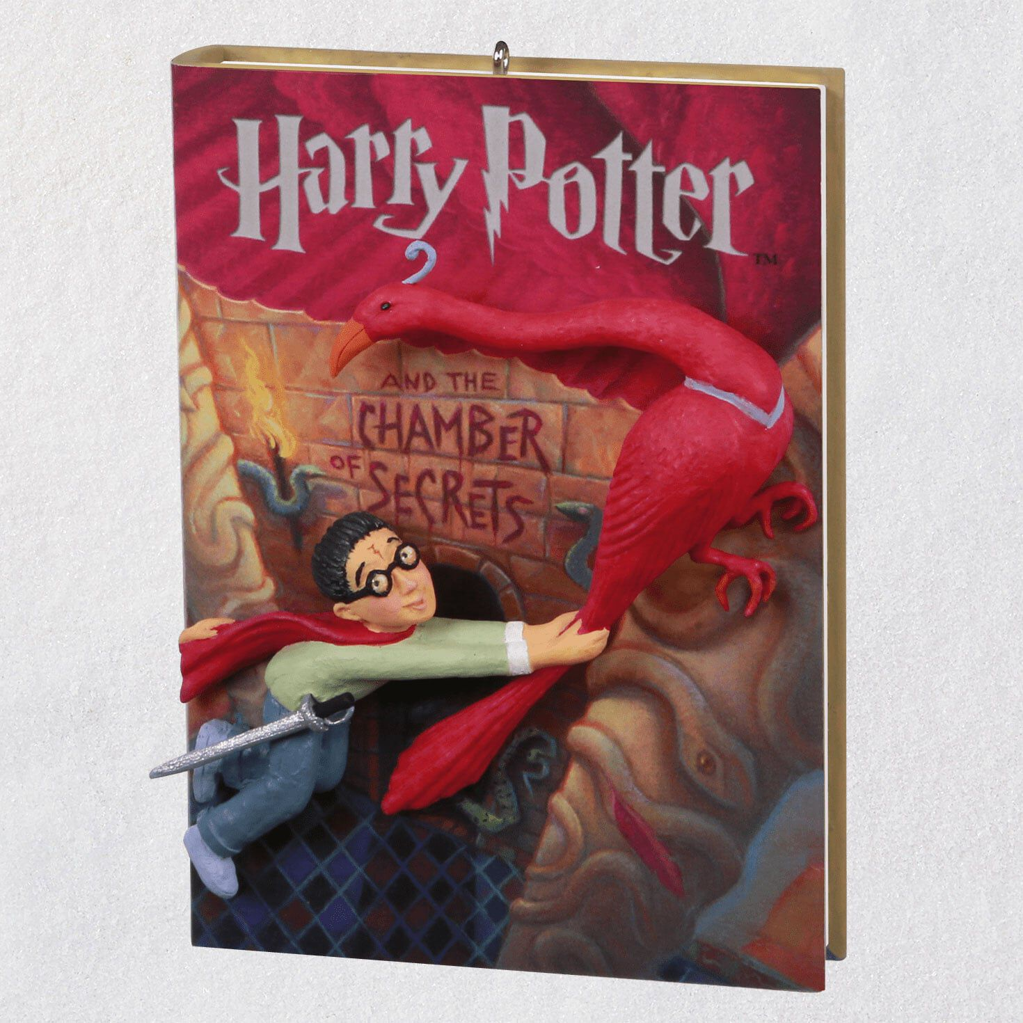 keepsake power cord (required for storytellers) keepsake ornamentsharry potter and the chamber of secrets™ ornament,