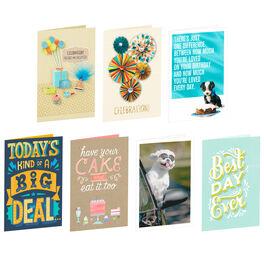 Most Popular Birthday Cards Set, , large