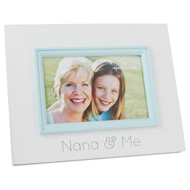nana and me wood photo frame 4x6 - Nana Frame