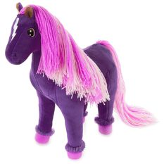 Rainbow Brite Skydancer Horse Stuffed Animal 11