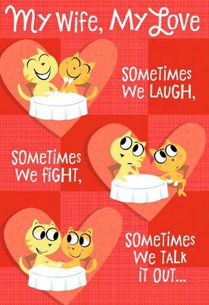 My Wife, My Love Valentine's Day Card